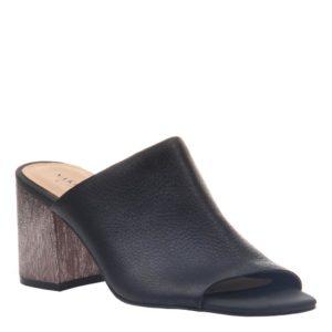 Naked Feet Harissa Black sandal